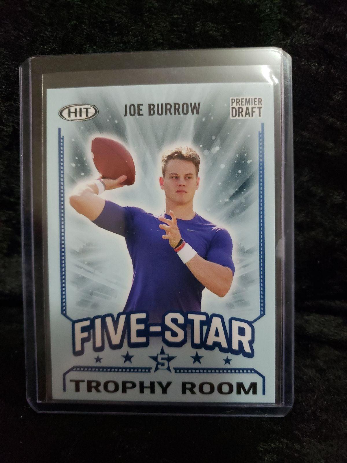 20 Hit Five Star #93 Joe Burrow RC
