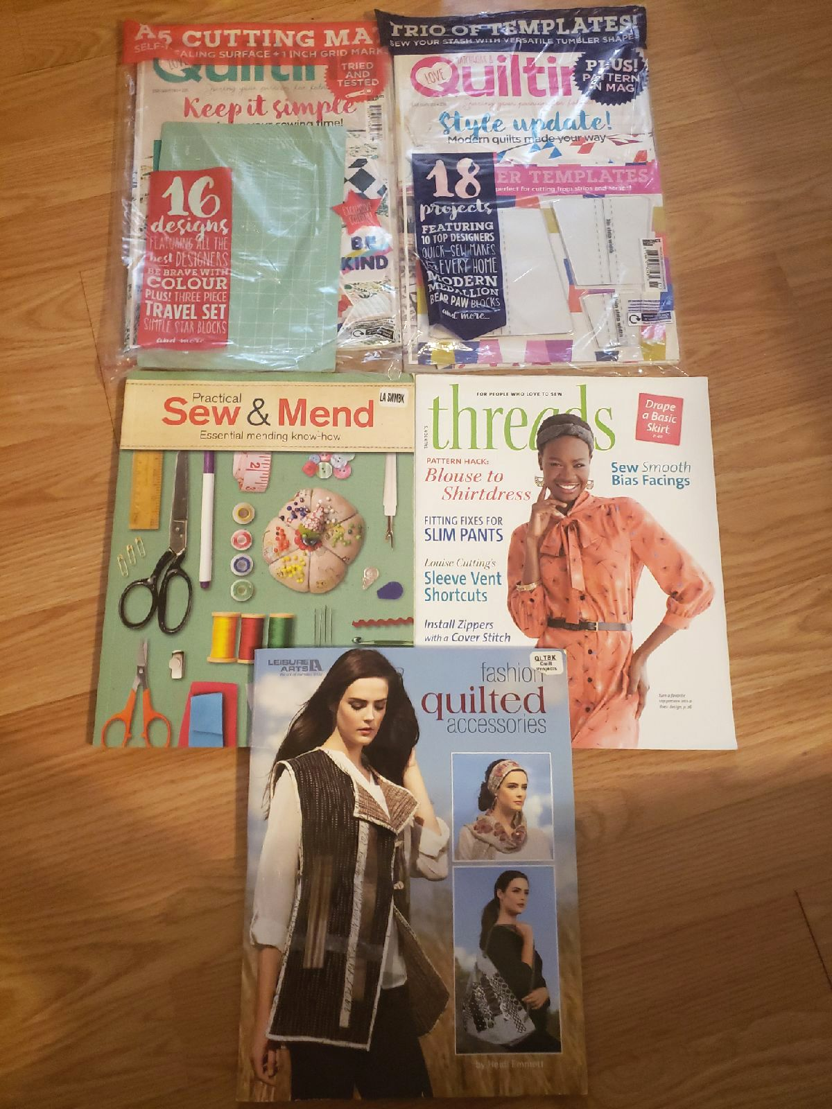 Sewing and quilting Bundle