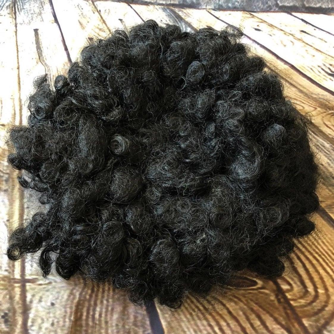 Halloween black Afro Wig hippy costume