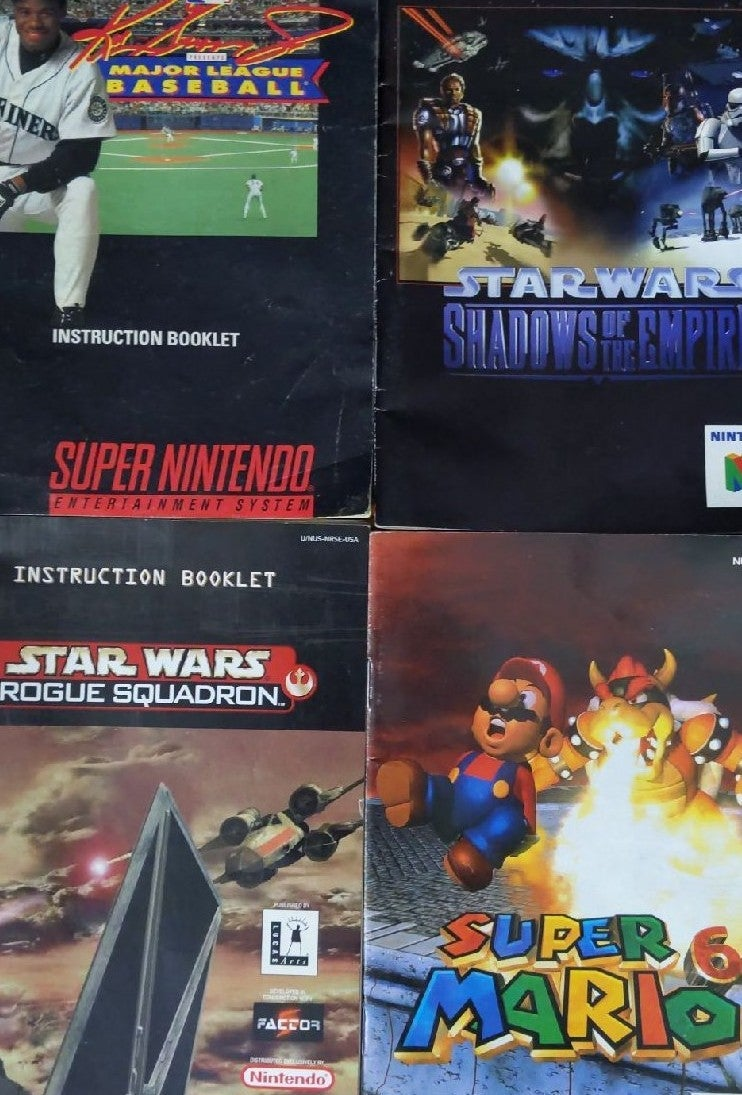 Nintendo 64 Game Manuals