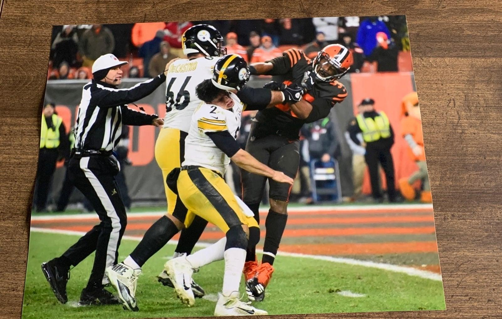 Myles Garrett Cleveland Browns photo