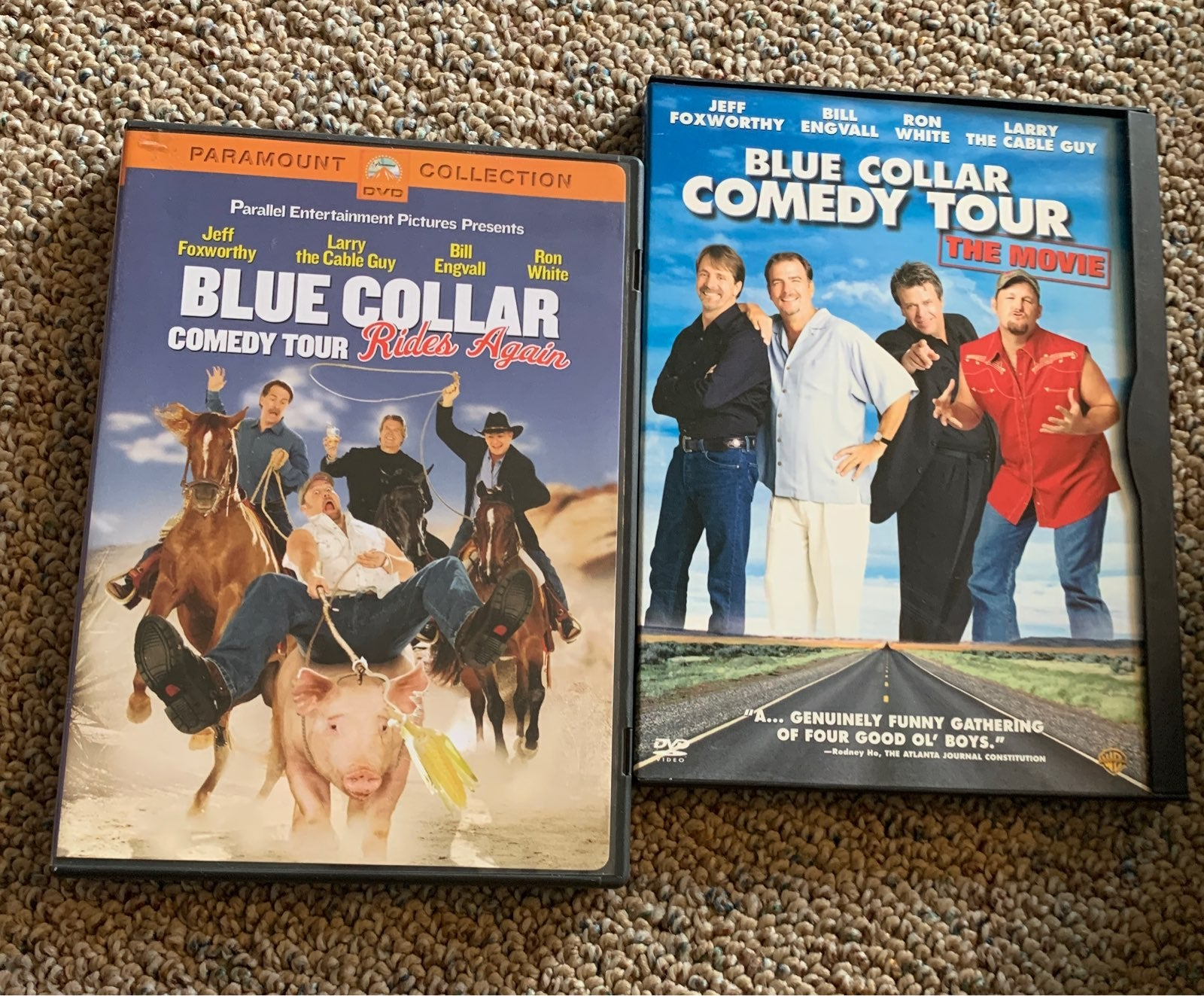 Blue coller comedy tour dvd bundle