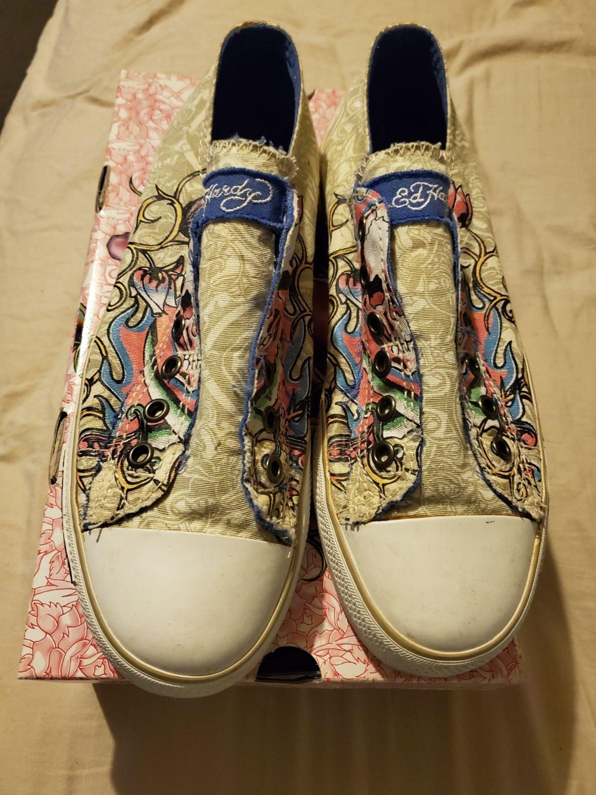Ladies Ed Hardy Sneakers