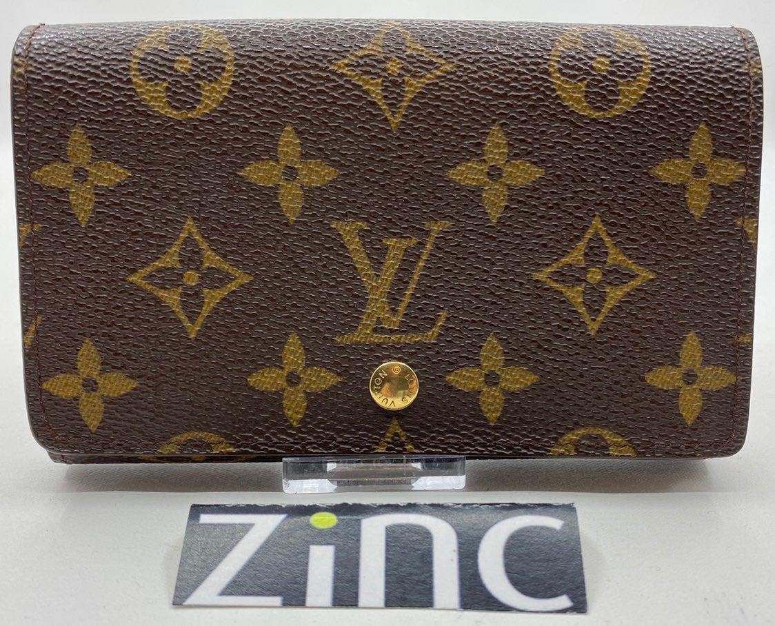 Louis Vuitton Monogram Tresor Wallet