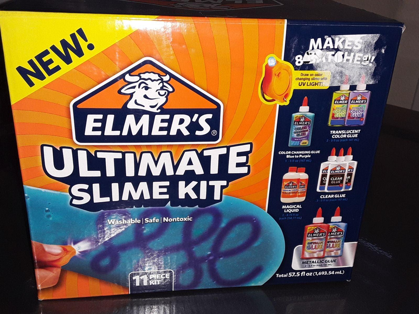 Elmer's 11ct Ultimate Slime Kit draw on
