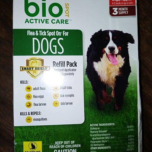 Bio Spot Refills 2 Months XL X Large Dog