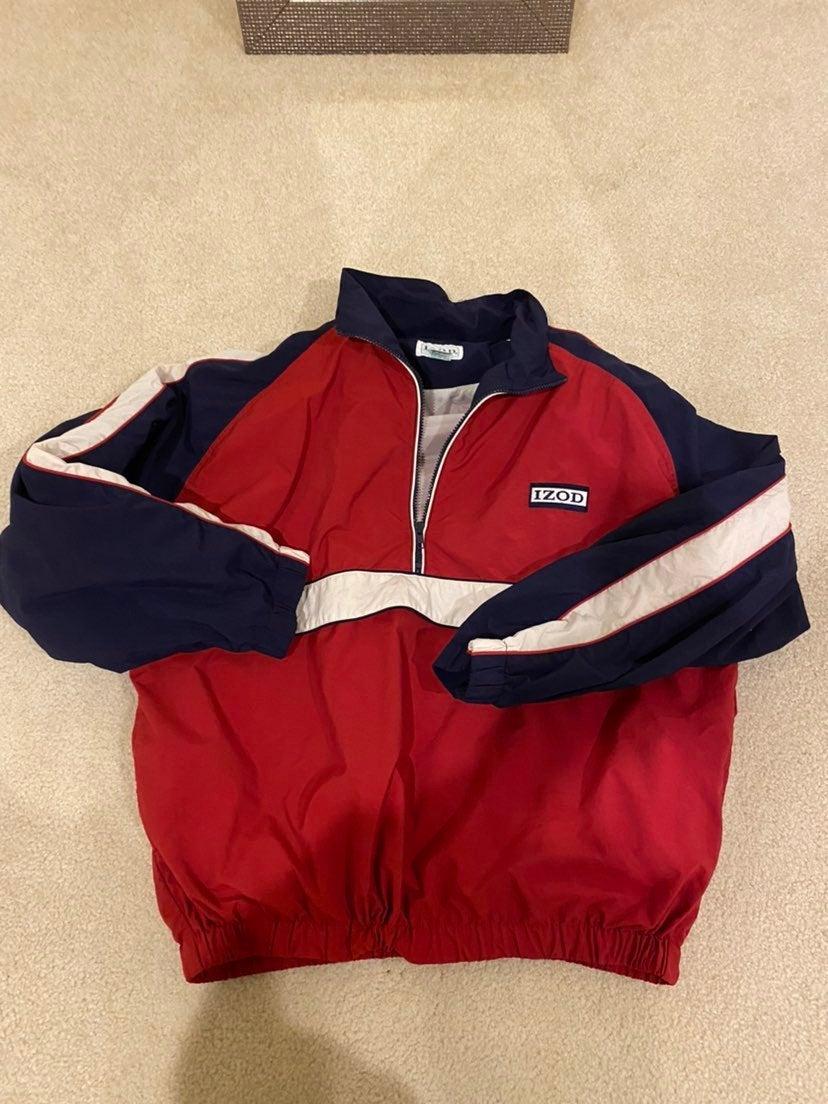 Izod Windbreaker jacket