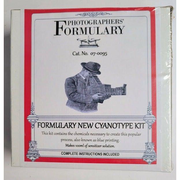 Photographers' Formulary Cat. No. 07-0095 New Cyanotype Kit SEALED FREE SHIP