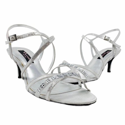 NINA Curran Ankle Strap Heeled Sandals