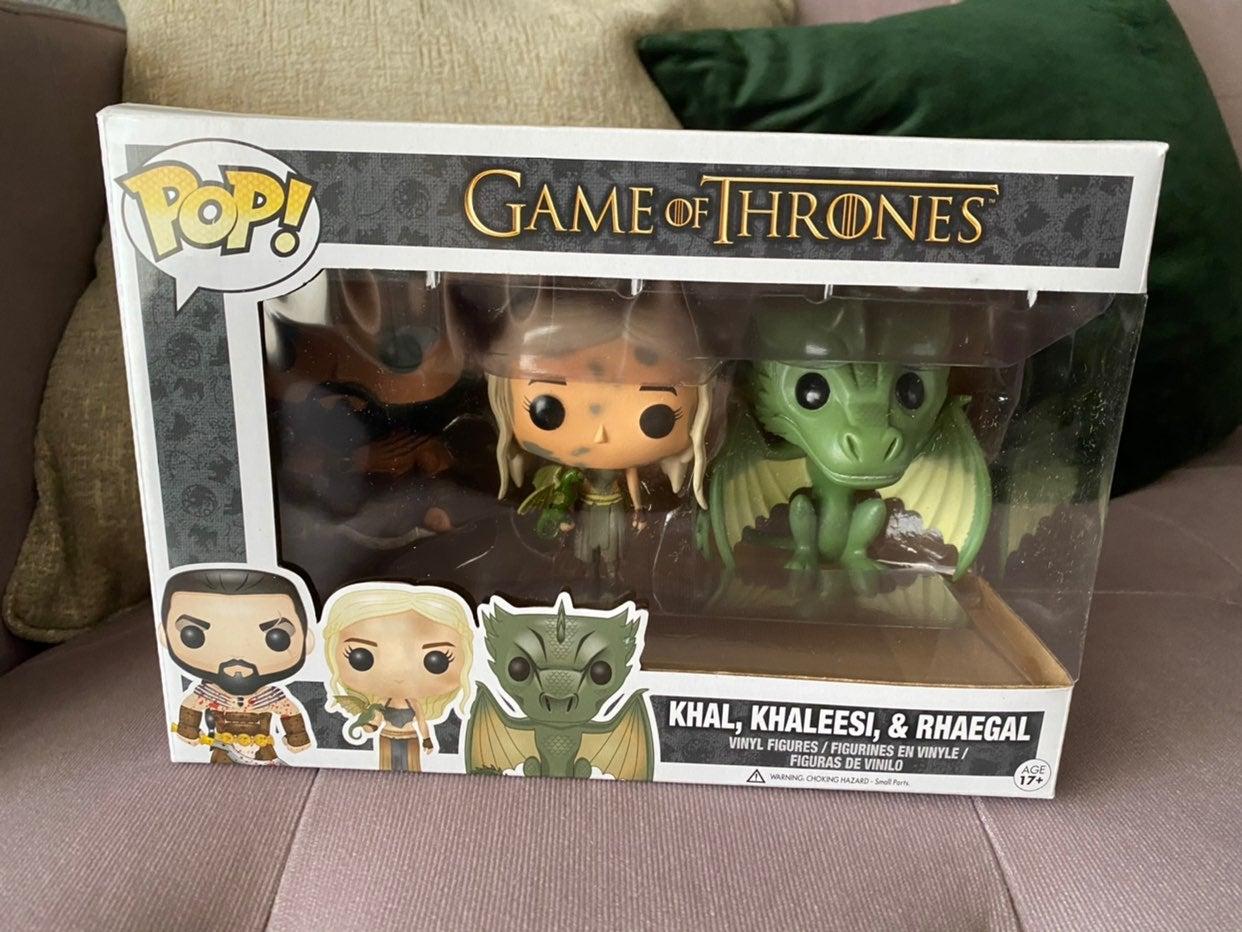 Funko Pop Bloody Khal Rhaegal Daenerys