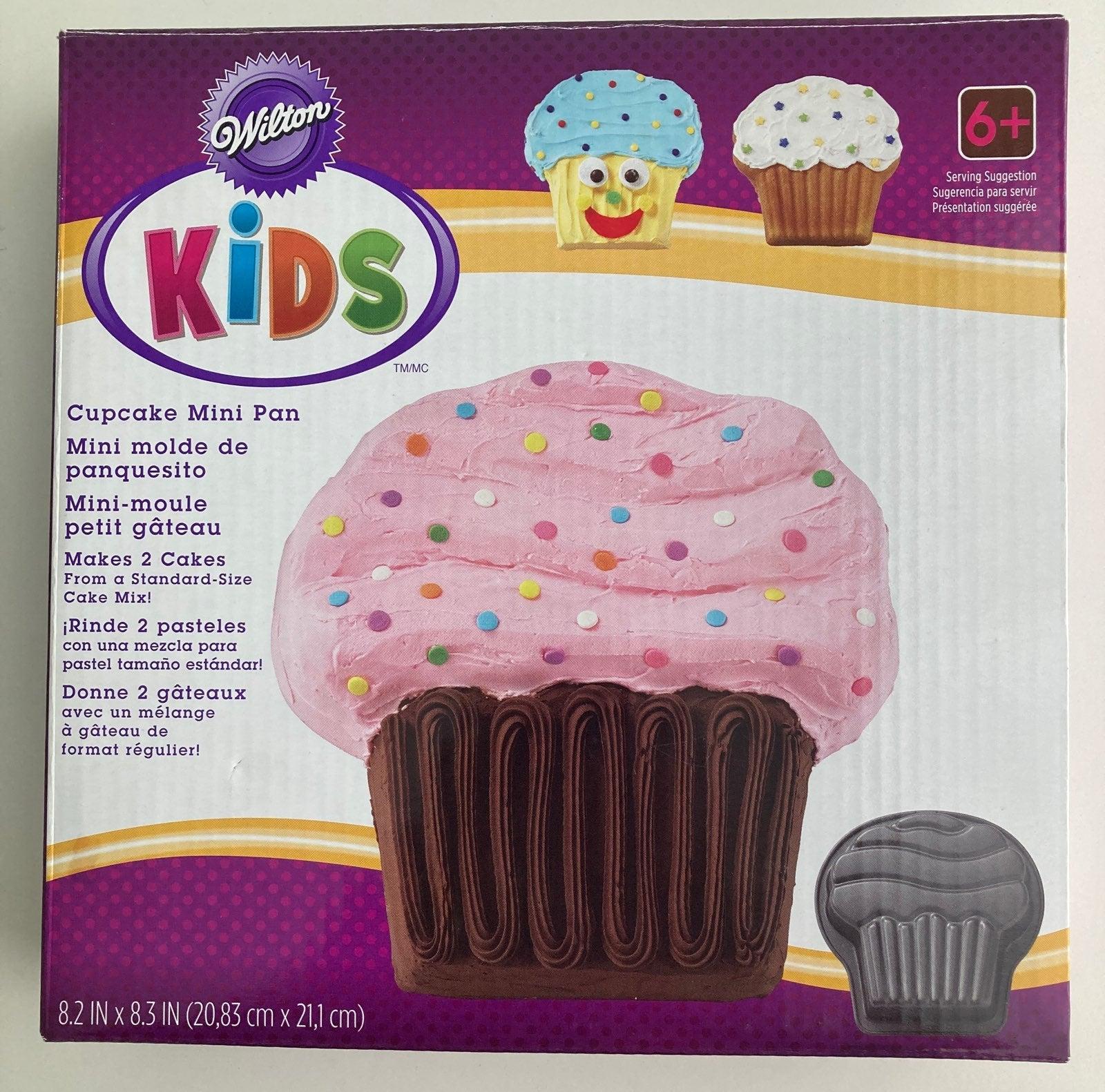 Wilton Kids Cupcake Mini Pan NIB