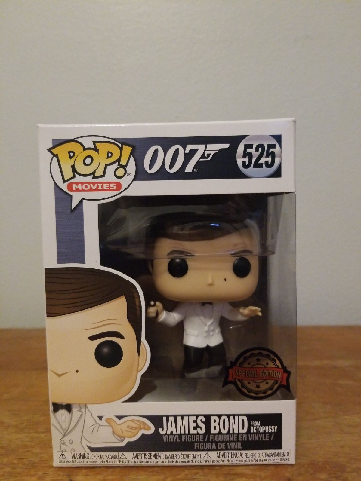 James Bond from Octopussy Funko Pop #525