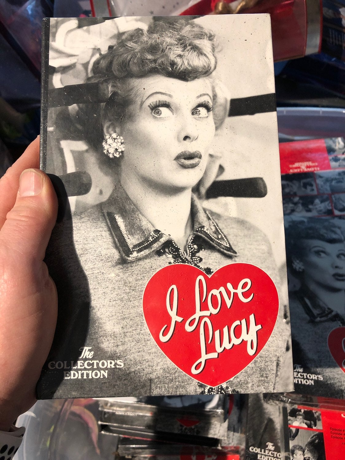 I Love Lucy Three episode vhs tape rando