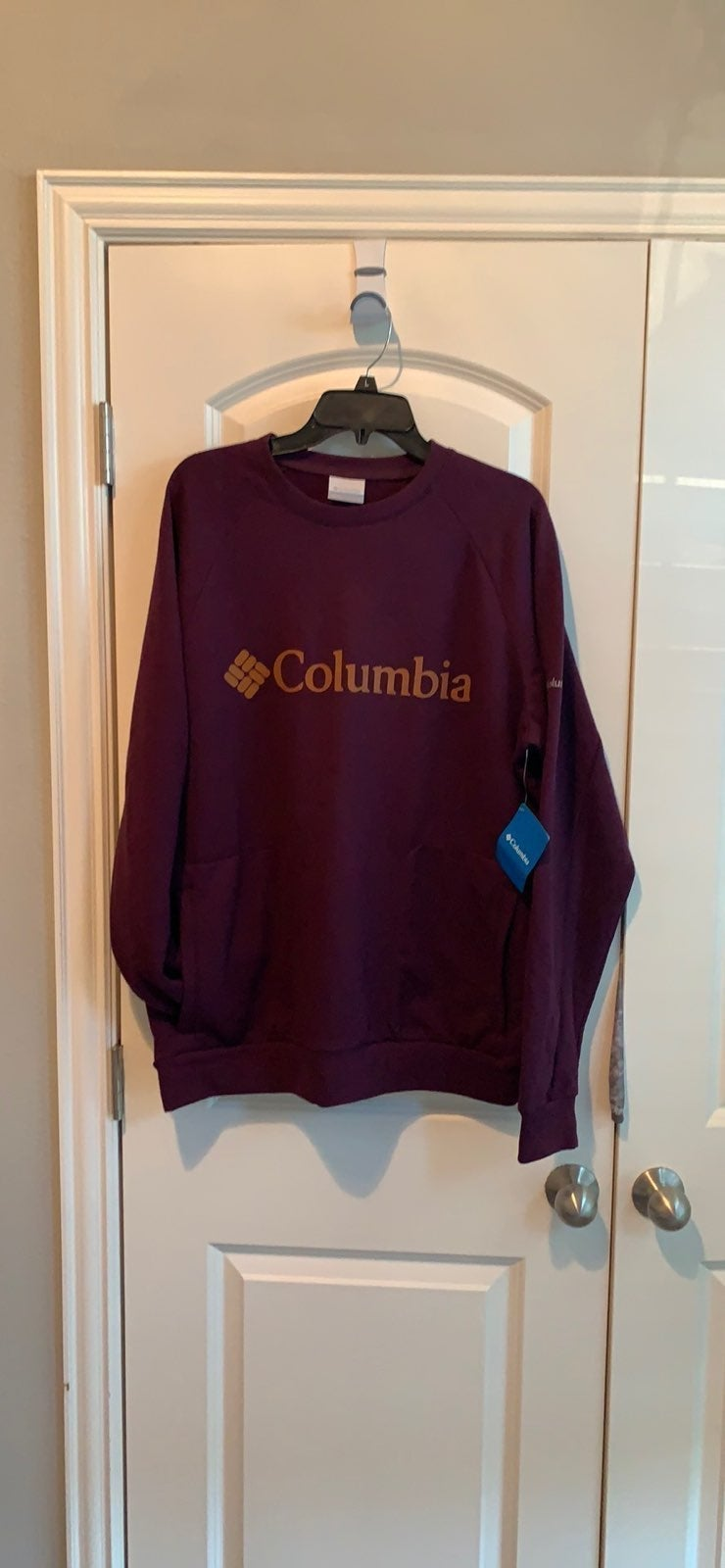 NWT!!Men's Columbia Crew Fleece W.Pocket