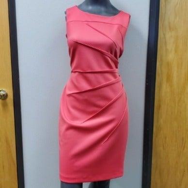 CALVIN KLEIN Flamingo Pink Dress