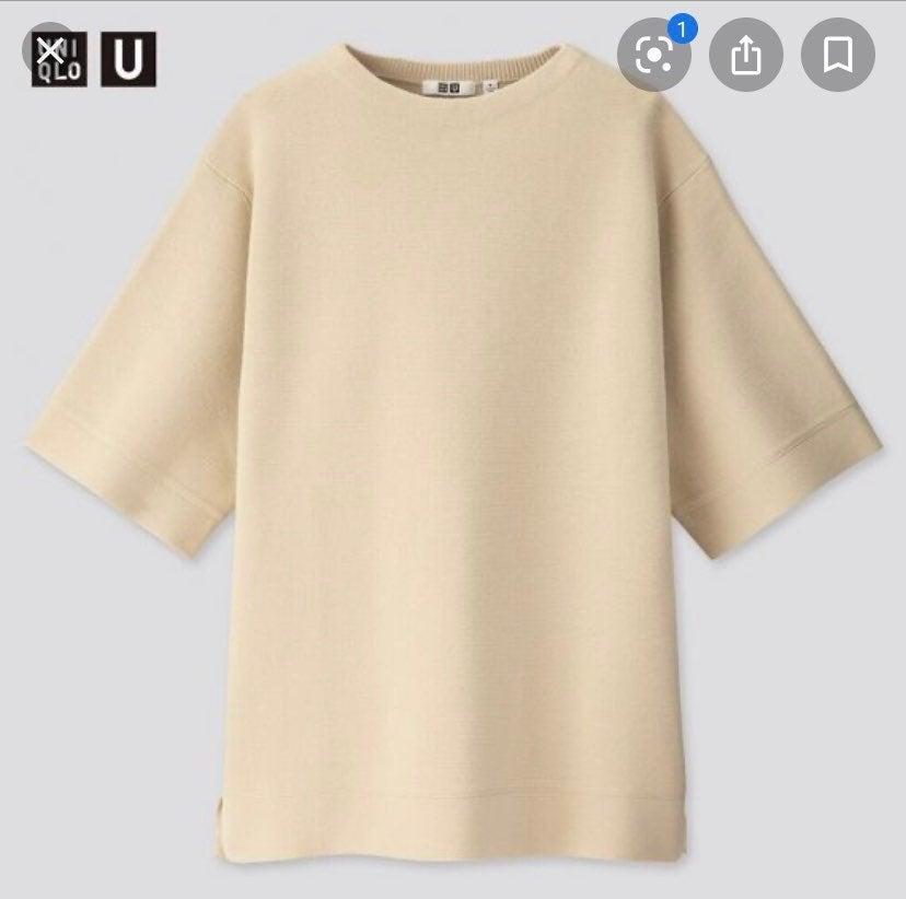 Uniqlo U Womens Half Sleeve Tunic