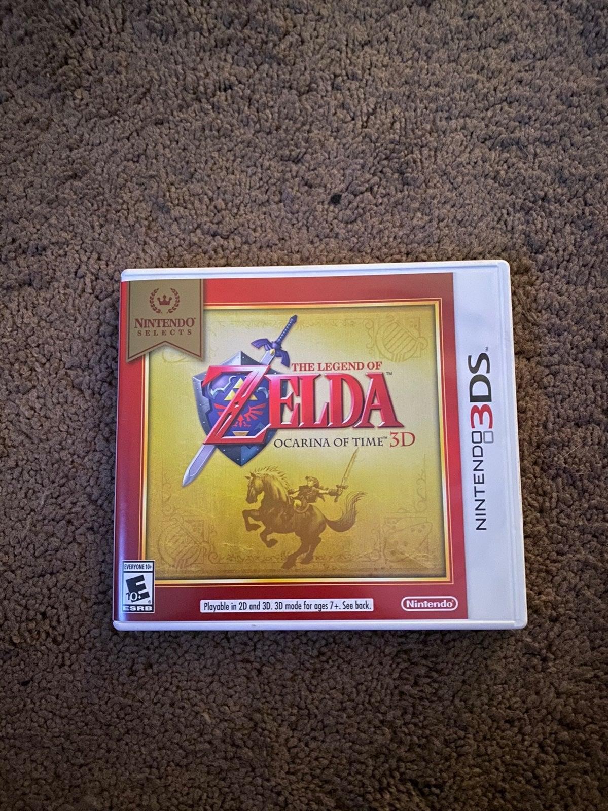 Nintendo Zelda Ocarina Of Time