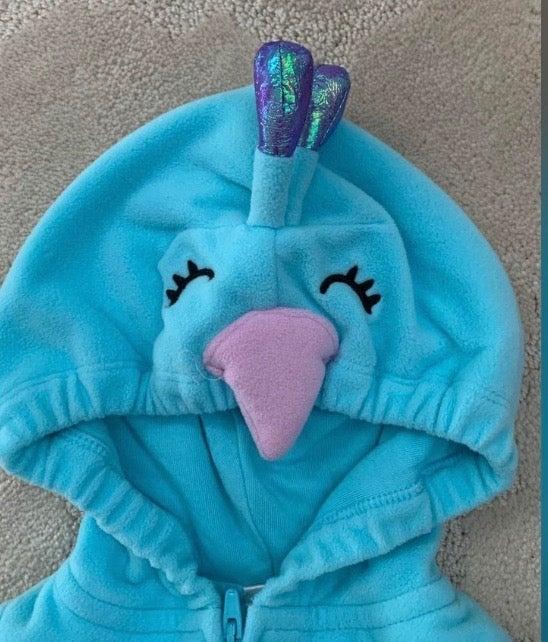 Peacock costume 12m