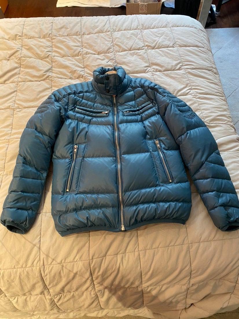 Diesel Puffer Jacket Teal Small