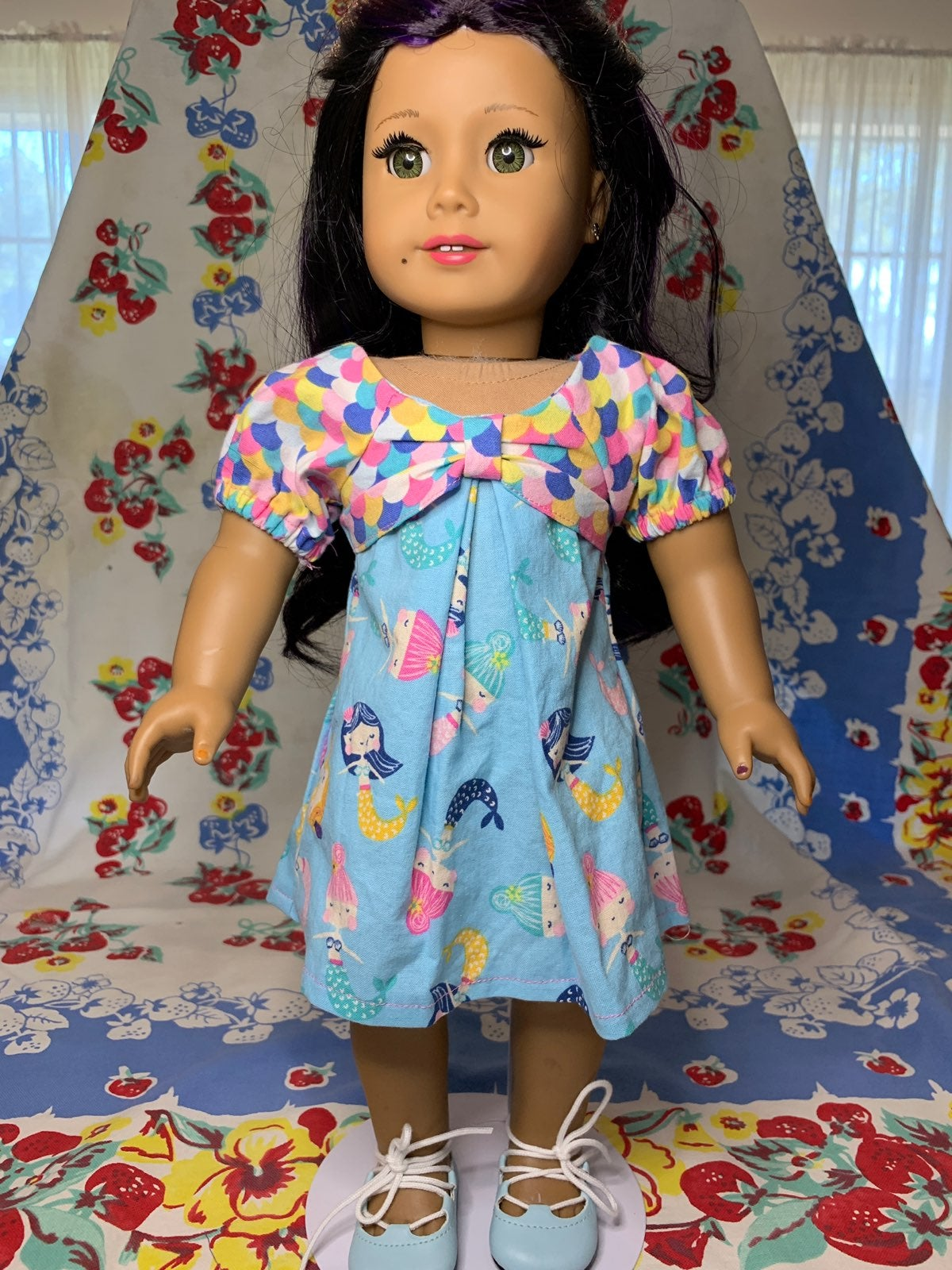 18 Inch Doll Dress Fits American Girl