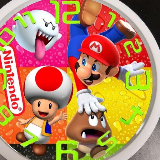 Nintendo led clock