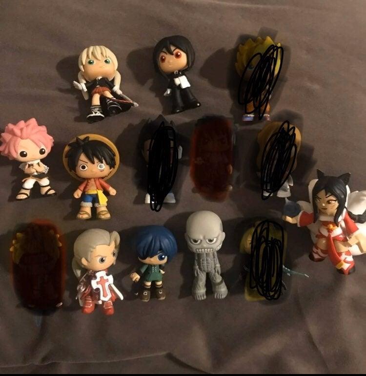 Anime Mystery Mini Lot Funko