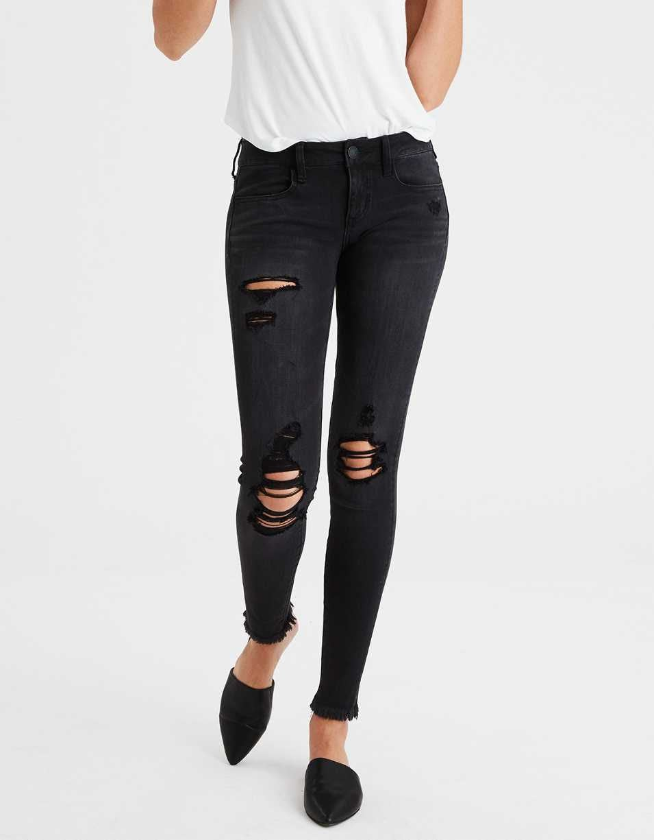 american eagle x4 super low rise jegging