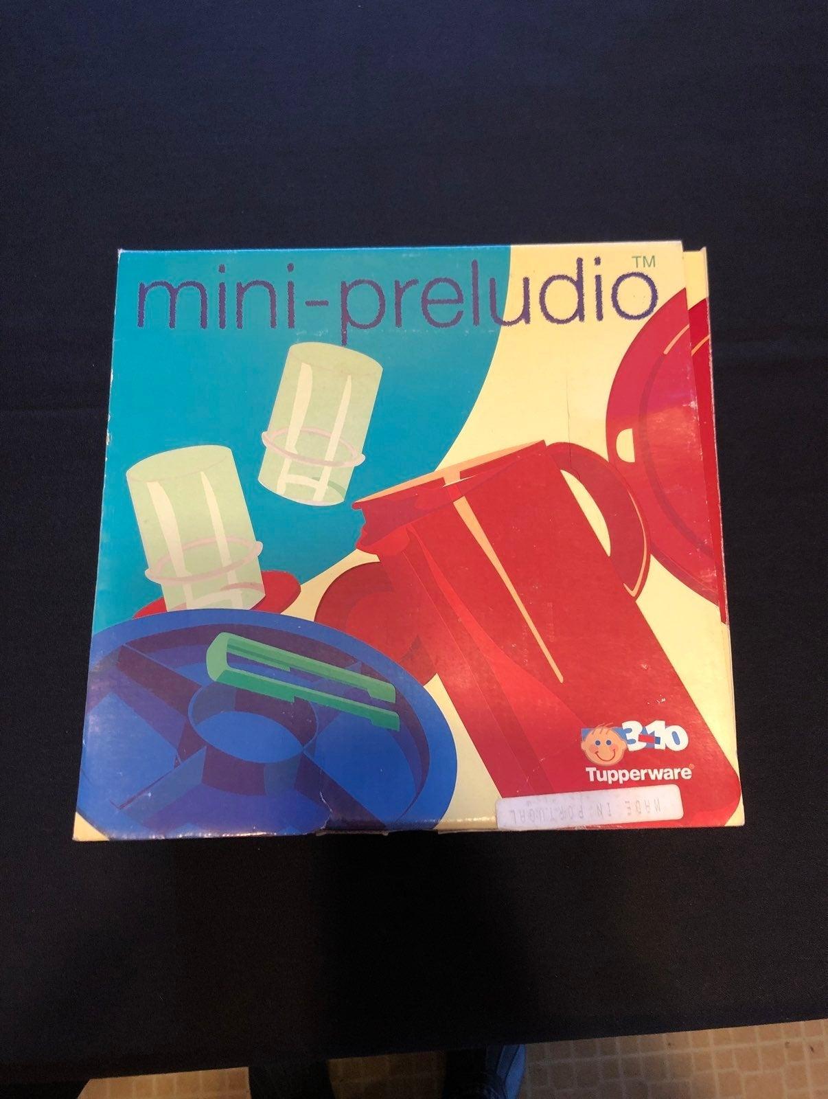Tupperware Mini Preludio set