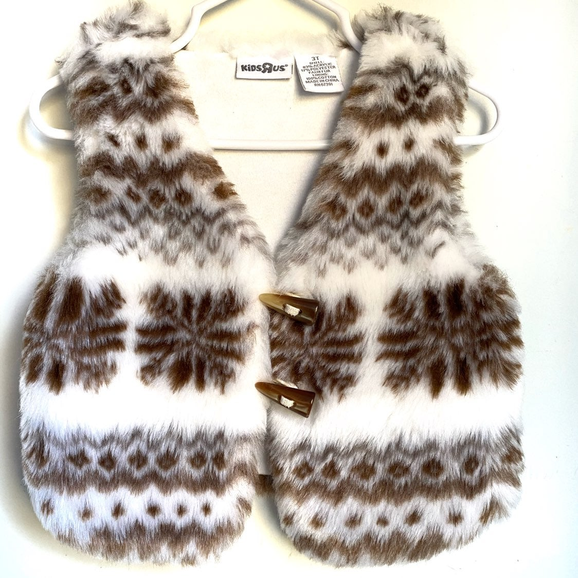 Girls Faux Fur Vest