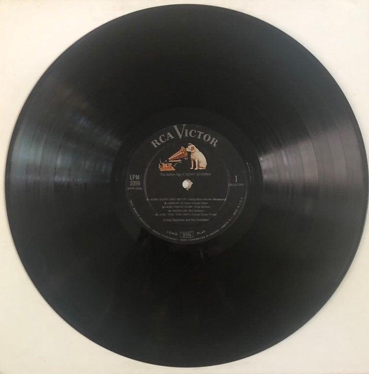 Benny Goodman Vintage Vinyl Record