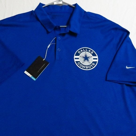 New 2XL Nike Dri-Fit Men db #58J Polo