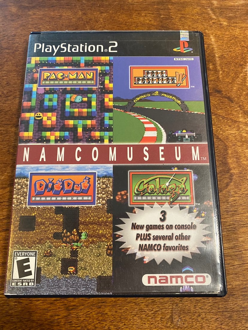Namco Museum Pac-Man Dig Dug Galaga PS2