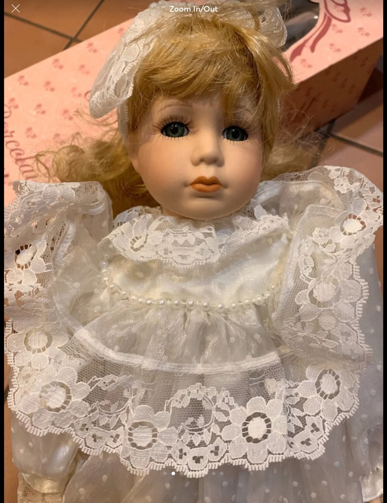 Brand New Beautiful Porcelain Doll toy