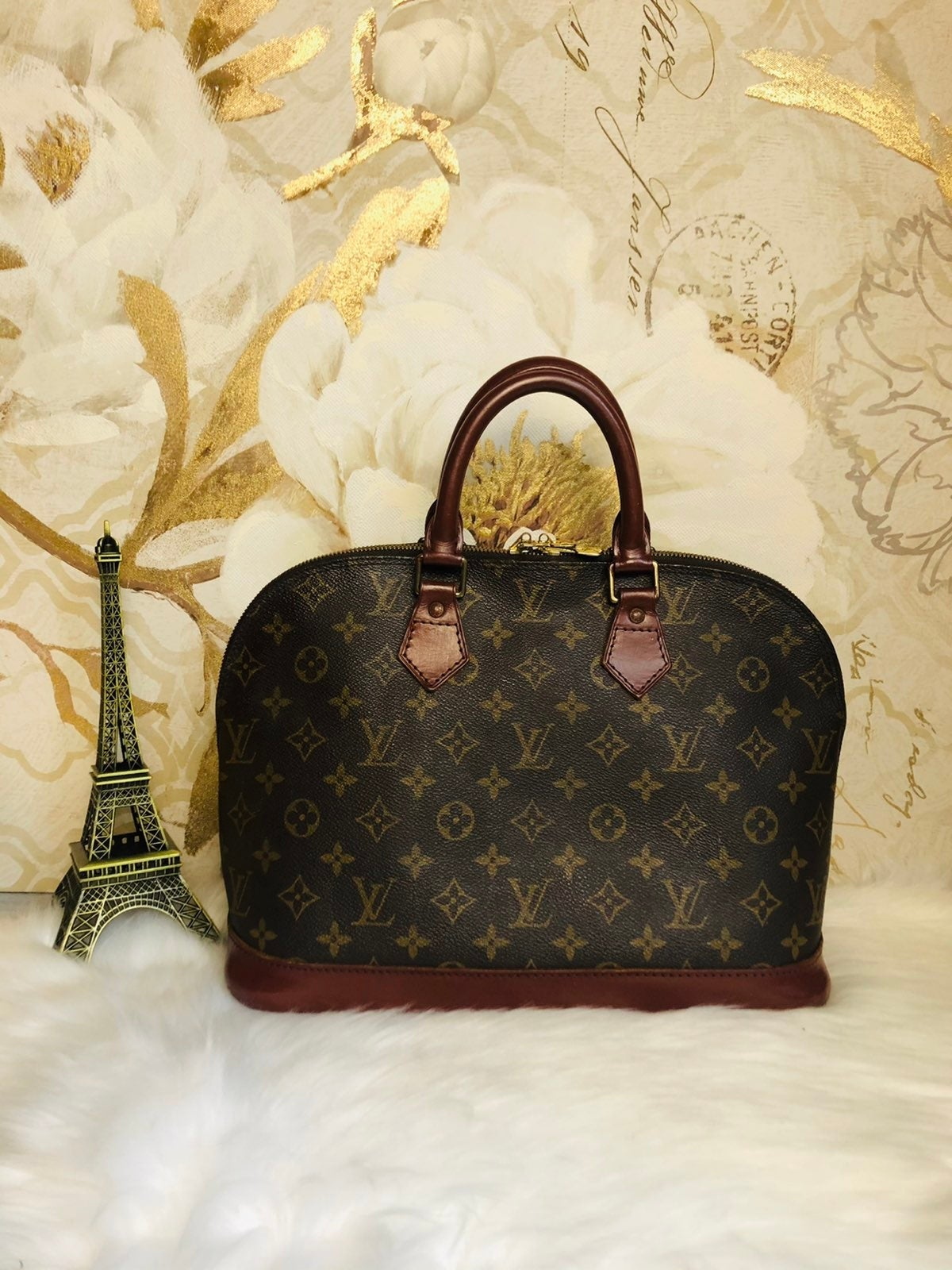 Authentic Louis Vuitton Alma PM Hand Bag