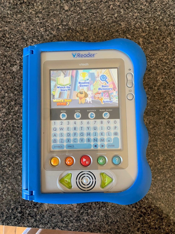 V Tech V reader with game