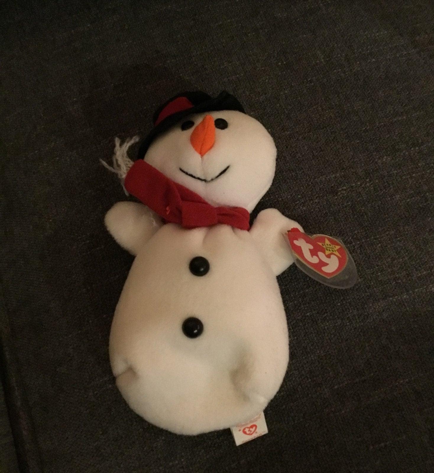 Beanie Baby Snowball