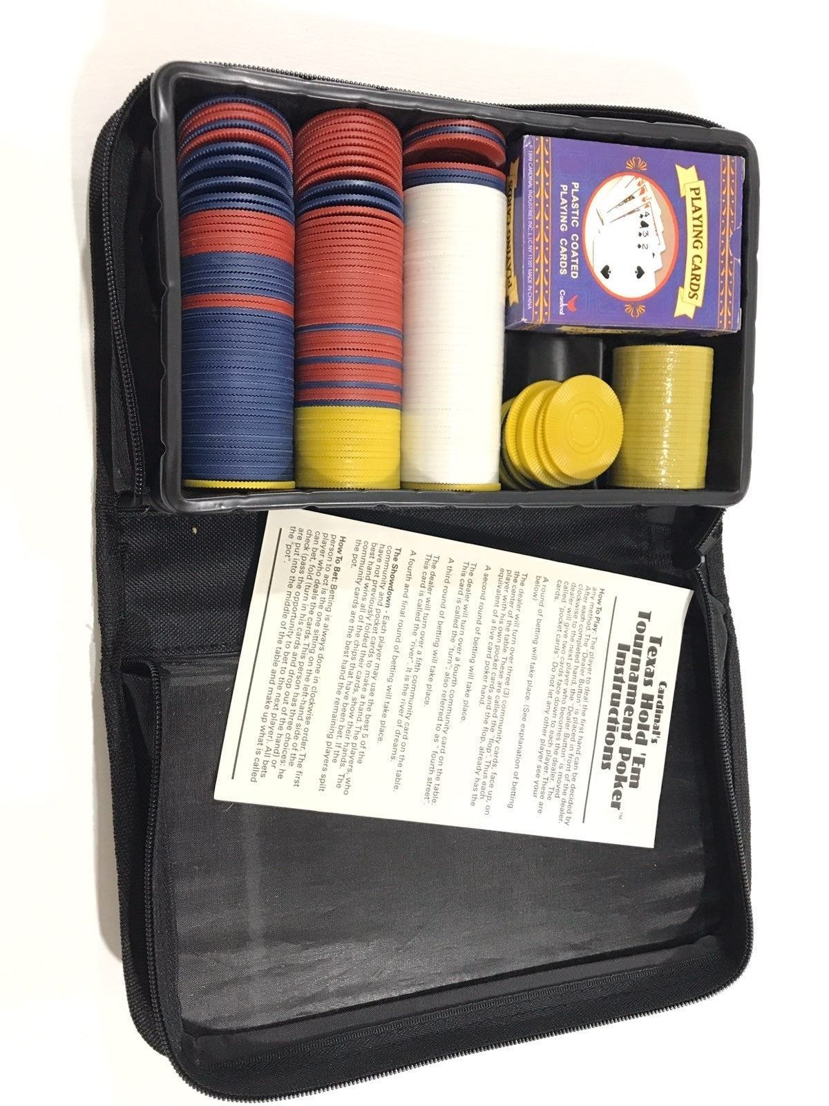 Texas Hold Em Poker Tournament Set Case