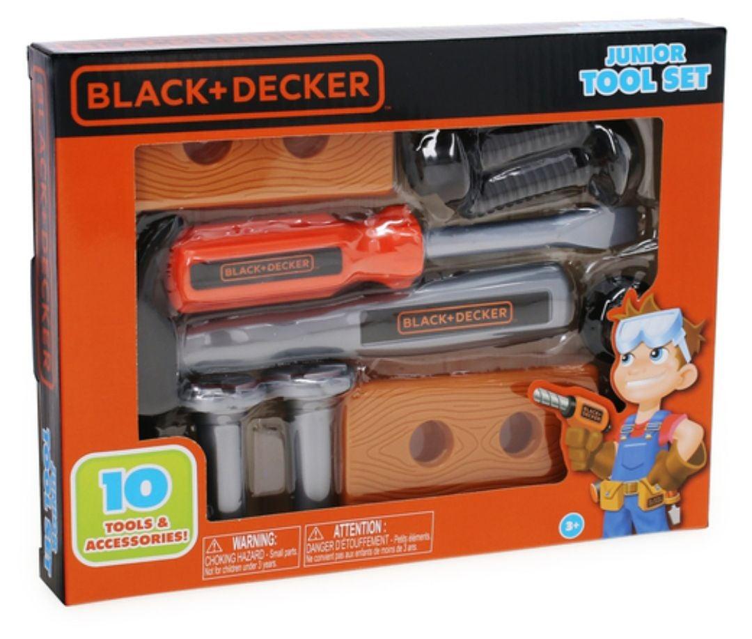 Black and decker kids 10pc tool set