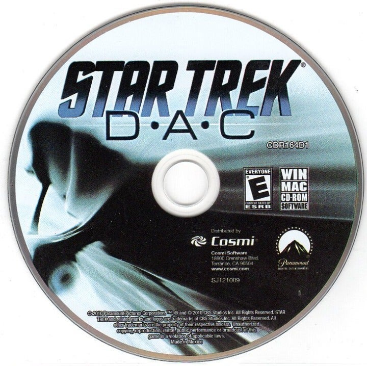 Star Trek: D-A-C (PC/MAC-CD, 2010) LAST1