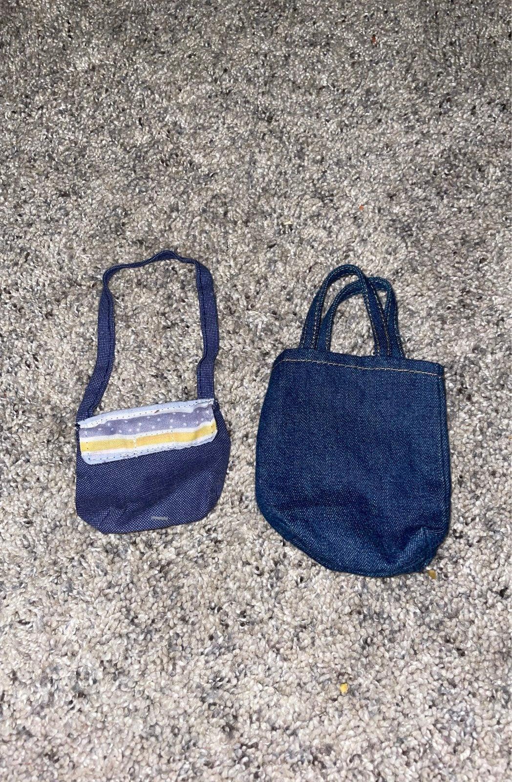 2 American girl doll purses