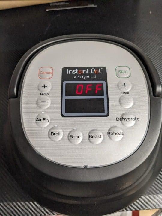 Instant pot 6 air fryer lid