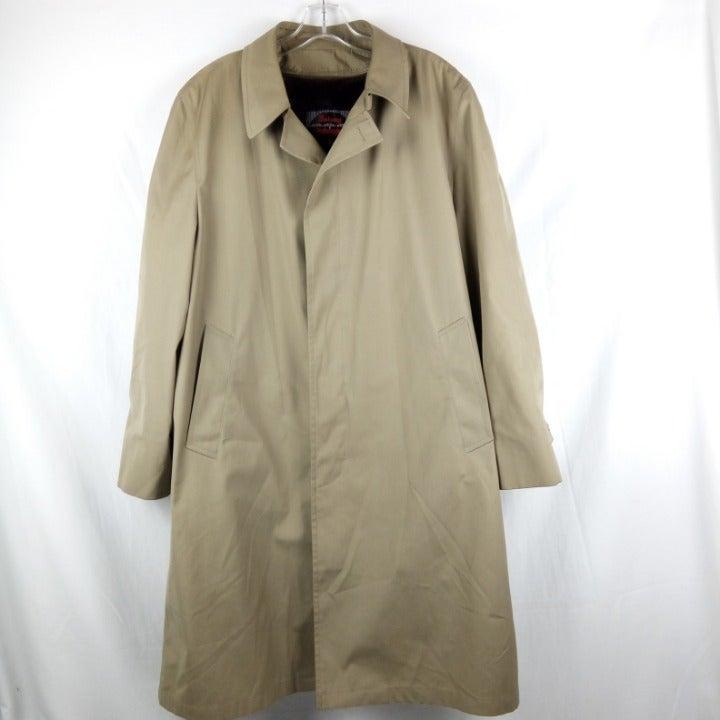 Botany Weathertopper Trench Coat Size 44