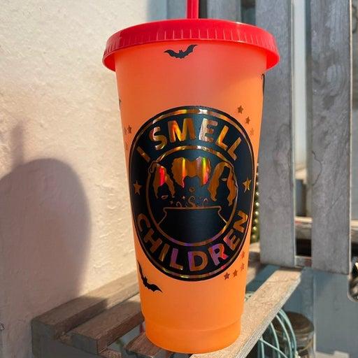 Hocus Pocus Halloween Color Change Cup