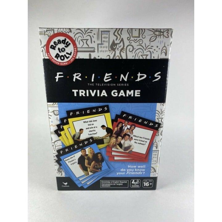 Friends TV Show Trivia Card Game Ready t