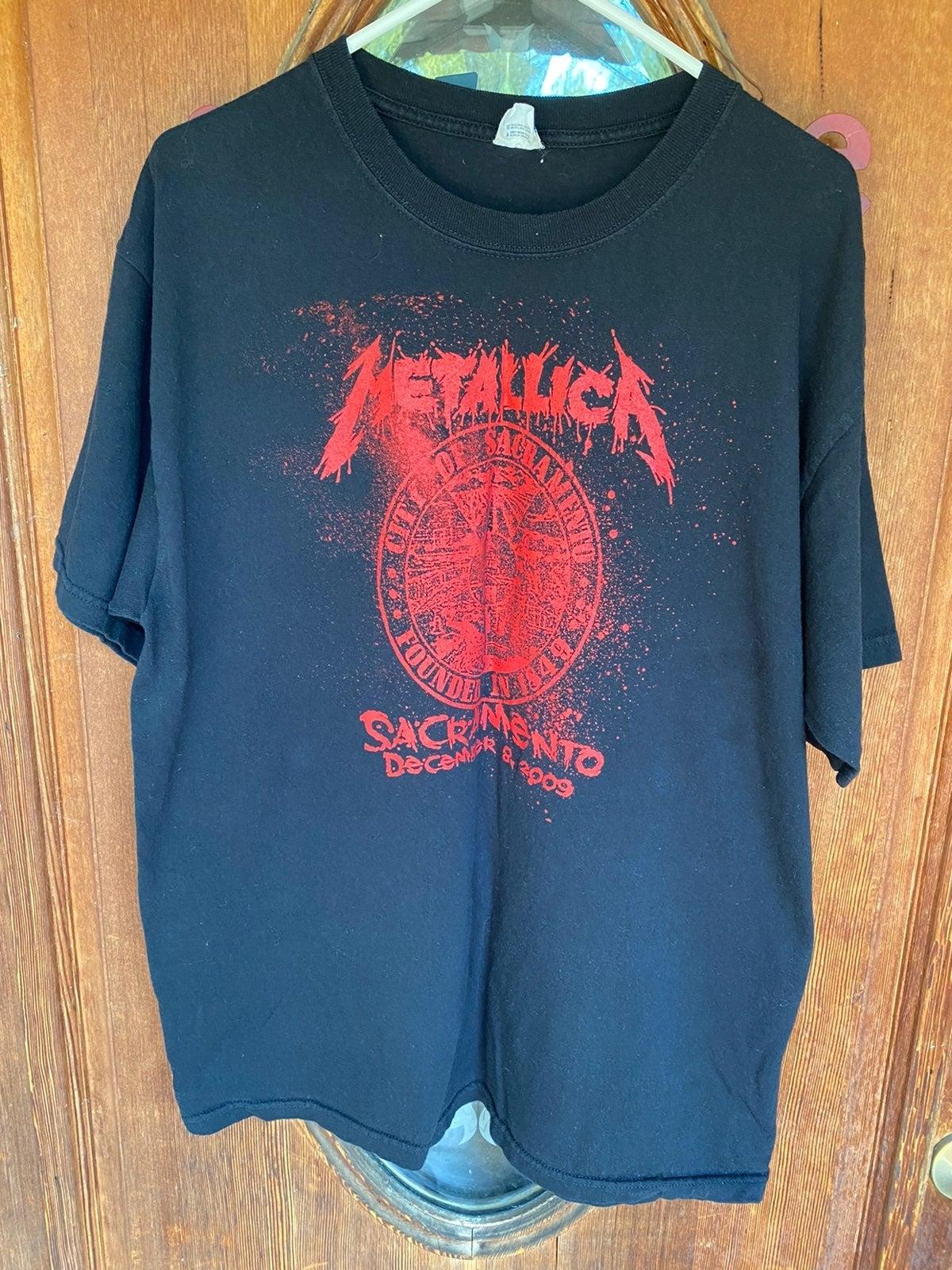 2009 Metallica Concert T-Shirt