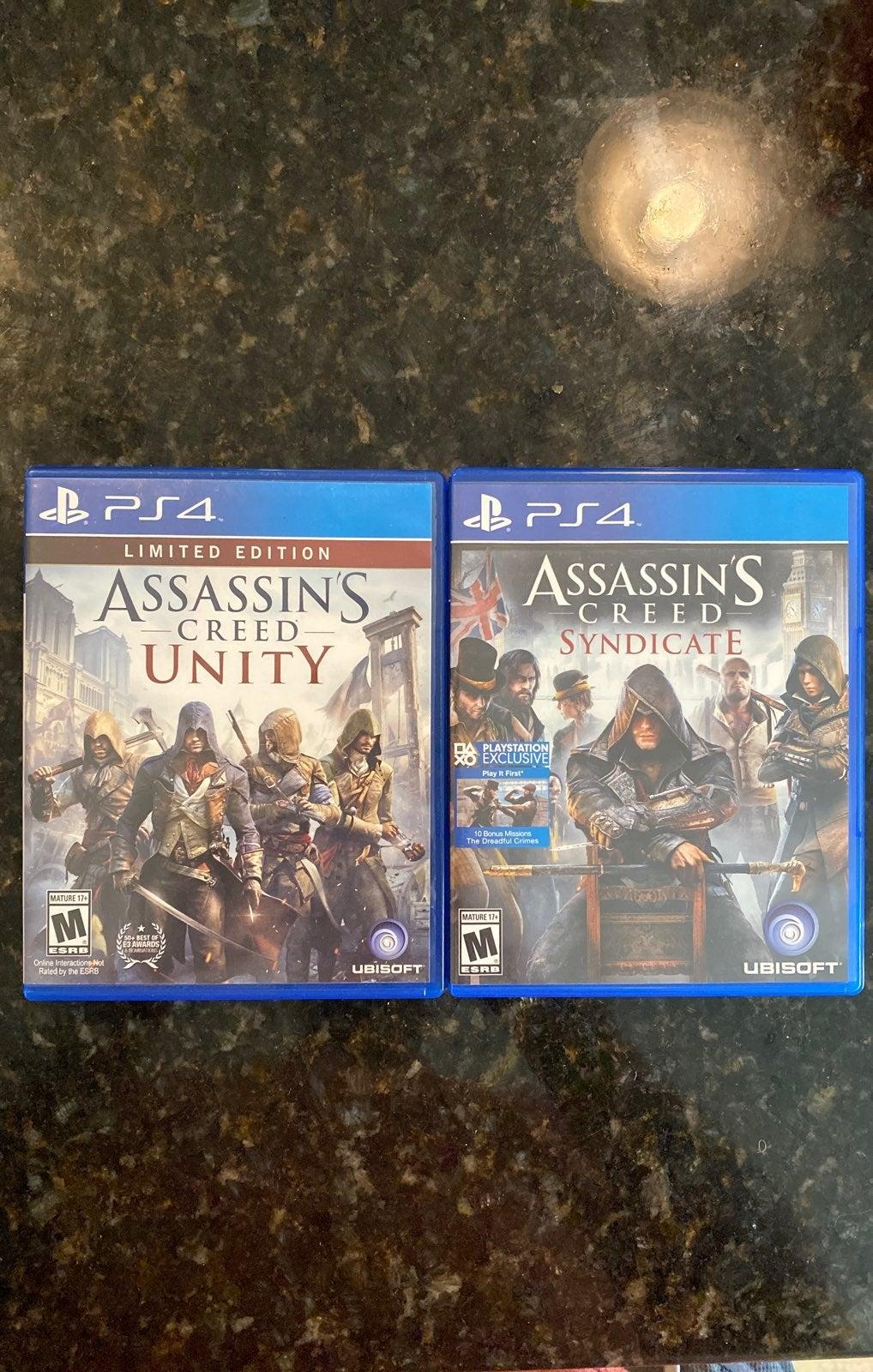 PS4 Assassins Creed Bundle