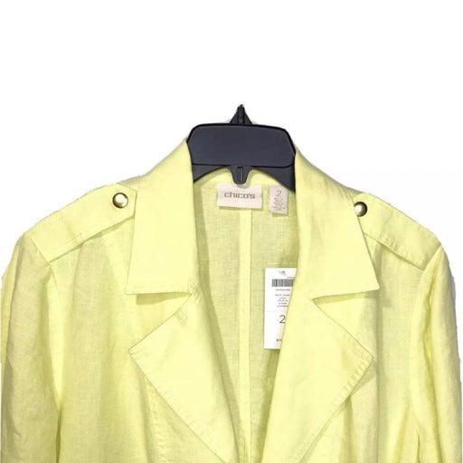 Chicos Linen Jacket new