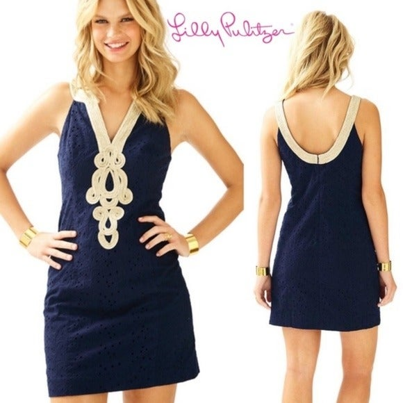 Lilly Pulitzer Emery Starfish Dress