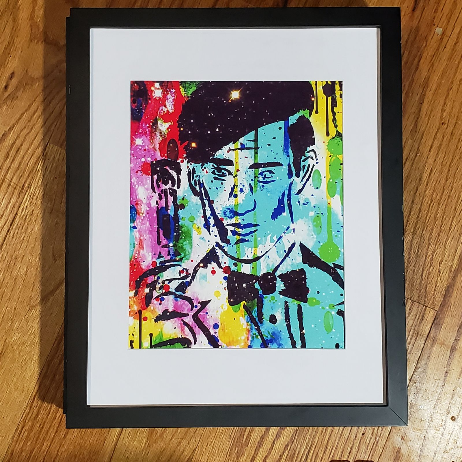 Unframed Doctor Who Abstract Art Print