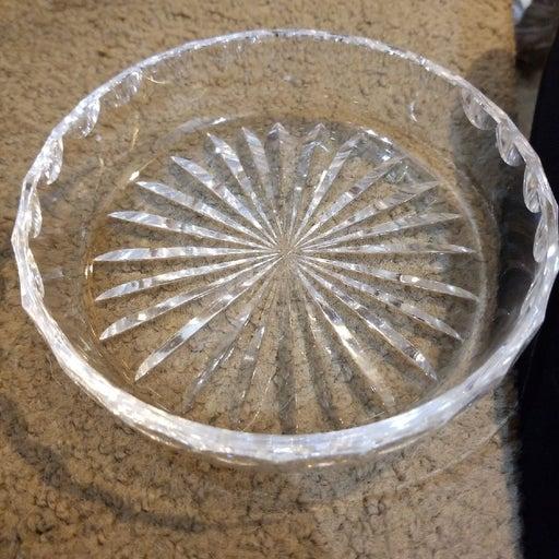 Crystal vintage tray